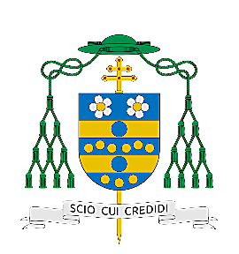 Nadškof Vigano - škofovski grb