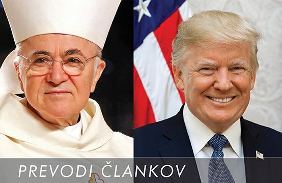 Vigano - Trump